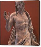 Christ Statue. The Louvre Canvas Print