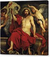 Christ Triumphant Over Sin And Death Canvas Print
