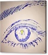 Christian Eye Canvas Print