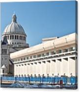 Christian Science Church Canvas Print