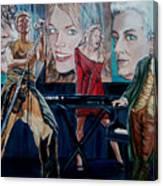 Christine Anderson Concert Fantasy Canvas Print