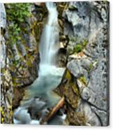 Christine Falls In The Canyon Canvas Print