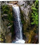 Christine Falls Mt Rainier Canvas Print
