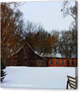 Christmas @ The Barn Canvas Print