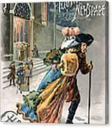 Christmas, 1890 Canvas Print