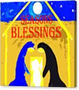 Christmas Blessings 5 Canvas Print