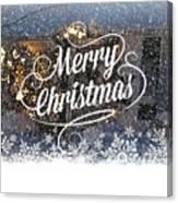 Christmas Blizzard Canvas Print