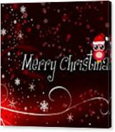 Christmas Card 3 Canvas Print