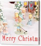 Christmas Card 5 Canvas Print