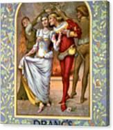 Christmas Cards, C1886 Canvas Print