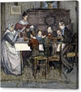 Christmas Carol Canvas Print