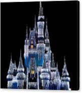 Christmas Castle Canvas Print