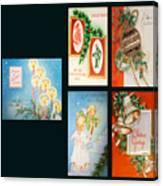 Christmas College 2 Canvas Print