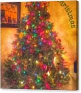 Christmas Corner Canvas Print
