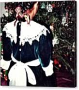Christmas Dress Canvas Print