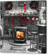 Christmas Eve Magic Canvas Print