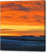 Christmas Eve Panrama 2 Canvas Print