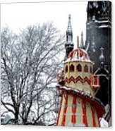 Christmas Helter Skelter Scotland Canvas Print