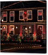 Christmas House-2 Canvas Print