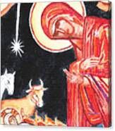 Christmas Icon 2 Canvas Print