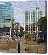 Christmas In Columbia Canvas Print
