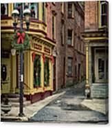 Christmas In Jim Thorpe Canvas Print