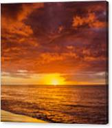 Christmas In Paradise Canvas Print