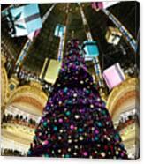 Christmas In Paris 2010 - #1 Canvas Print