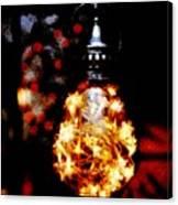 Christmas Lantern Canvas Print