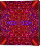 Christmas Light Abstract 3 Canvas Print