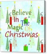 Christmas Magic Canvas Print