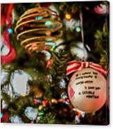 Christmas Martini 4389 Canvas Print