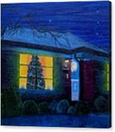 The Image Of Christmas Past Canvas Print