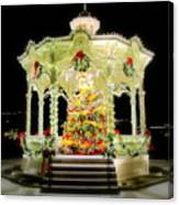 Christmas On The Square Canvas Print