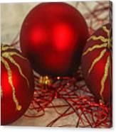 Christmas Ornaments Canvas Print