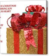 Christmas Packages Canvas Print