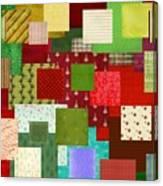 Christmas Quilt Canvas Print