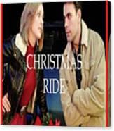 Christmas Ride Poster 16 Canvas Print