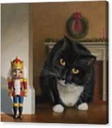 Christmas Stalking Canvas Print