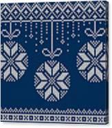 Christmas Sweater Canvas Print