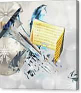 Christmas Time Music Canvas Print