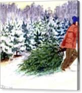 Christmas Tree Farm Canvas Print