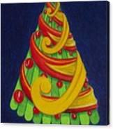 Christmas Tree No. Three Canvas Print