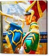 Christmas Trumpet Canvas Print