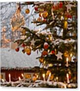 Christmastime At Tivoli Gardens Canvas Print