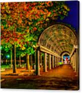 Christopher Columbus Park 3766 Canvas Print