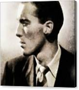 Christopher Lee, Vintage Actor Canvas Print