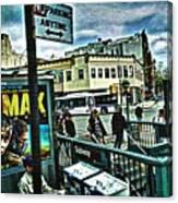 Christopher Street Greenwich Village  Canvas Print