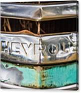 Chrome Chevrolet Canvas Print