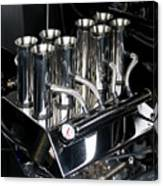Chromed Fuel Injection Canvas Print